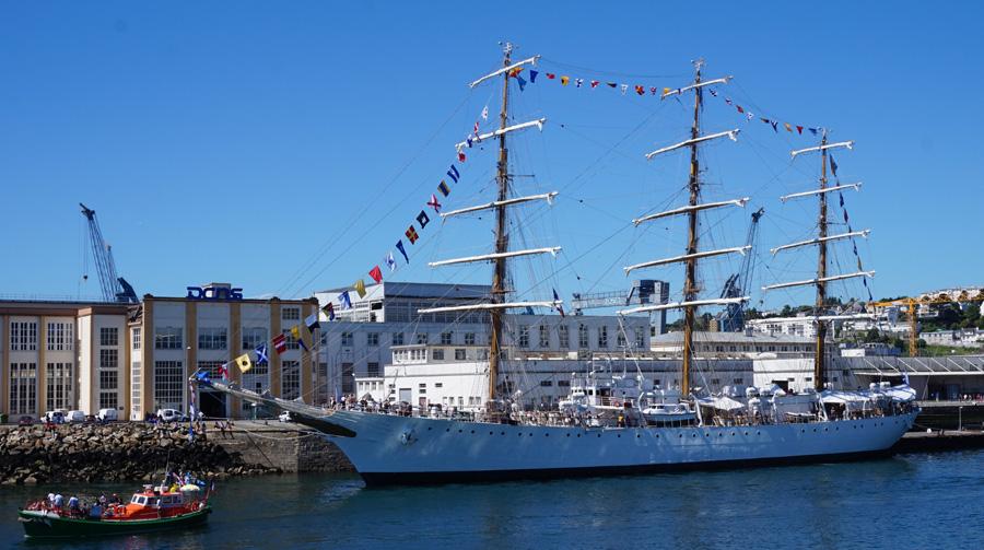 Fêtes maritimes de Brest : toutes voiles dehors !