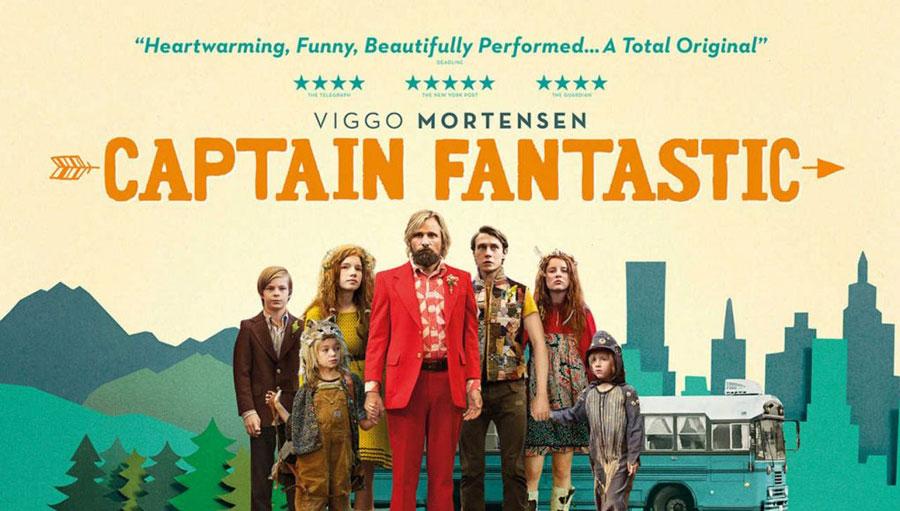 """Captain Fantastic : choix de vie & convictions. Une famille """"Into the wild"""""""