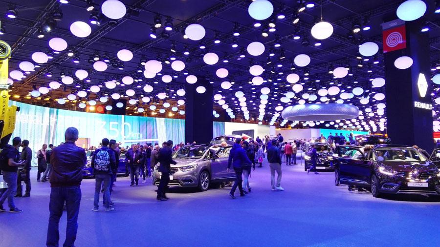 Mondial de l'Auto : les plus beaux stands