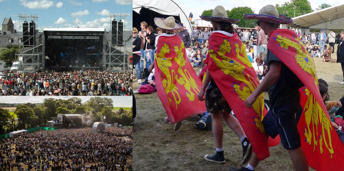 Beauregard, Papillons de Nuit, Green Horse : la guerre des festivals Normands