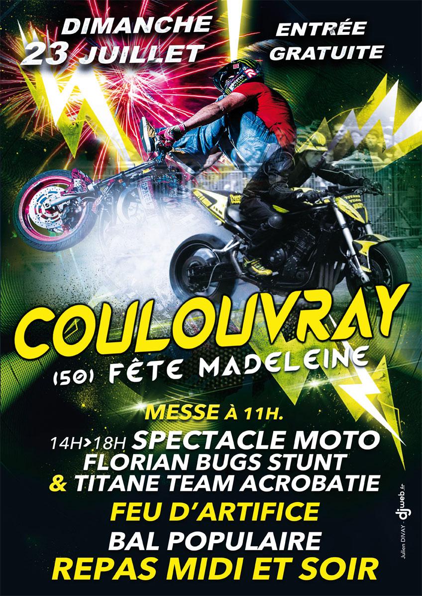 Visuel : Fête communale de Coulouvray