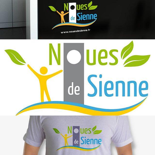 Création du logo de Noues de Sienne