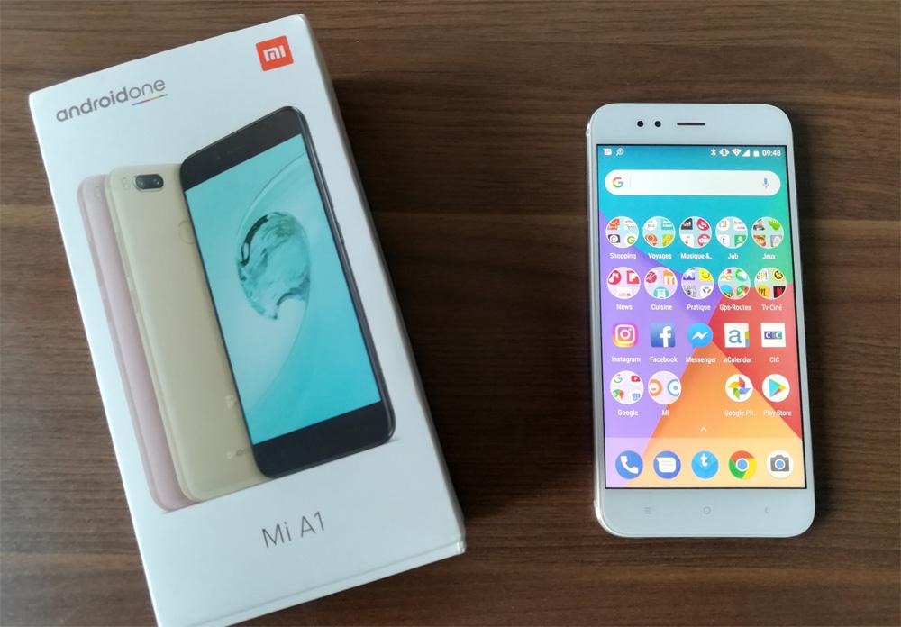 Mon Xiaomi A1 sous Android One est arrivé !