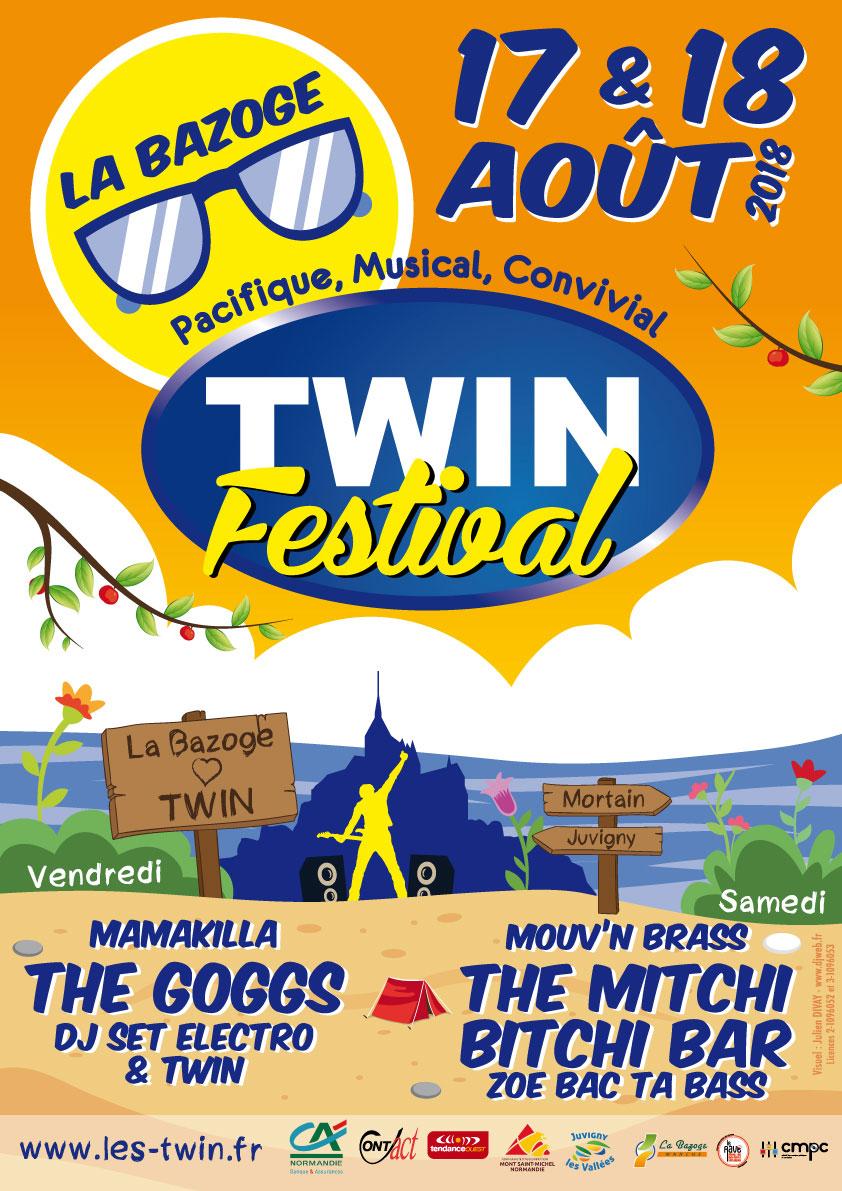 Communication du Twin Festival