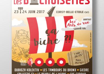 Affiches Festival Les Bichoiseries