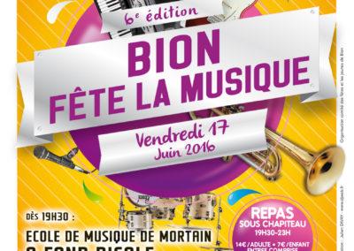 Affiche Bion Fête la Musique