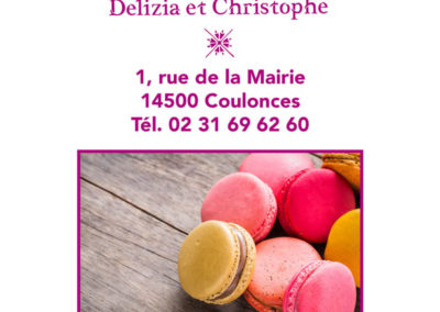 Flyer, Boulangerie de Coulonces