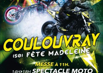 Affiche fête communale de Coulouvray