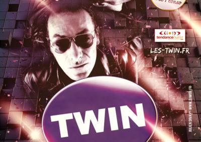Affiche Concert Twin Jet Blast