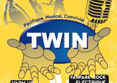 Affiche Twin concert Monty Picon