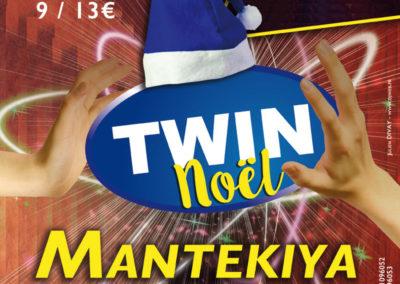Affiche Twin Noël Mantekiya