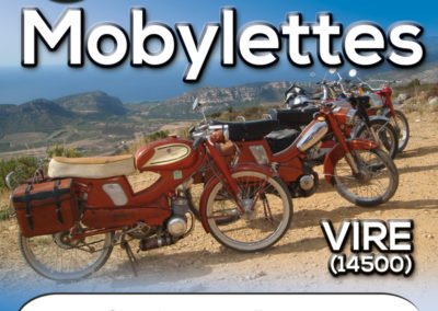 Affiche, Balade Mobylettes