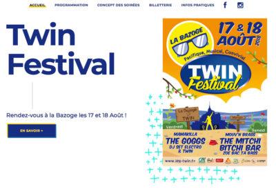 Site web www.les-twin.fr