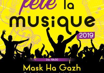 Affiche, Bion fête la Musique 2019