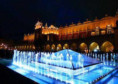 Cracovie, la halle aux draps Pologne