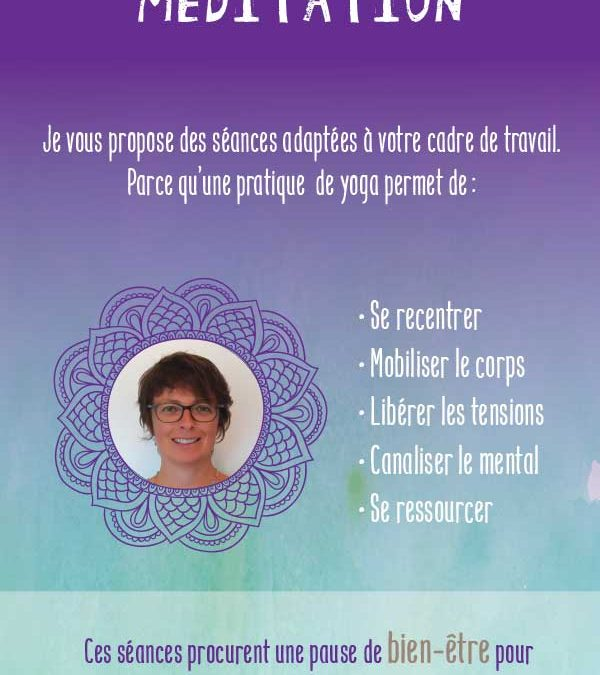 Flyer Yoga en Cotentin