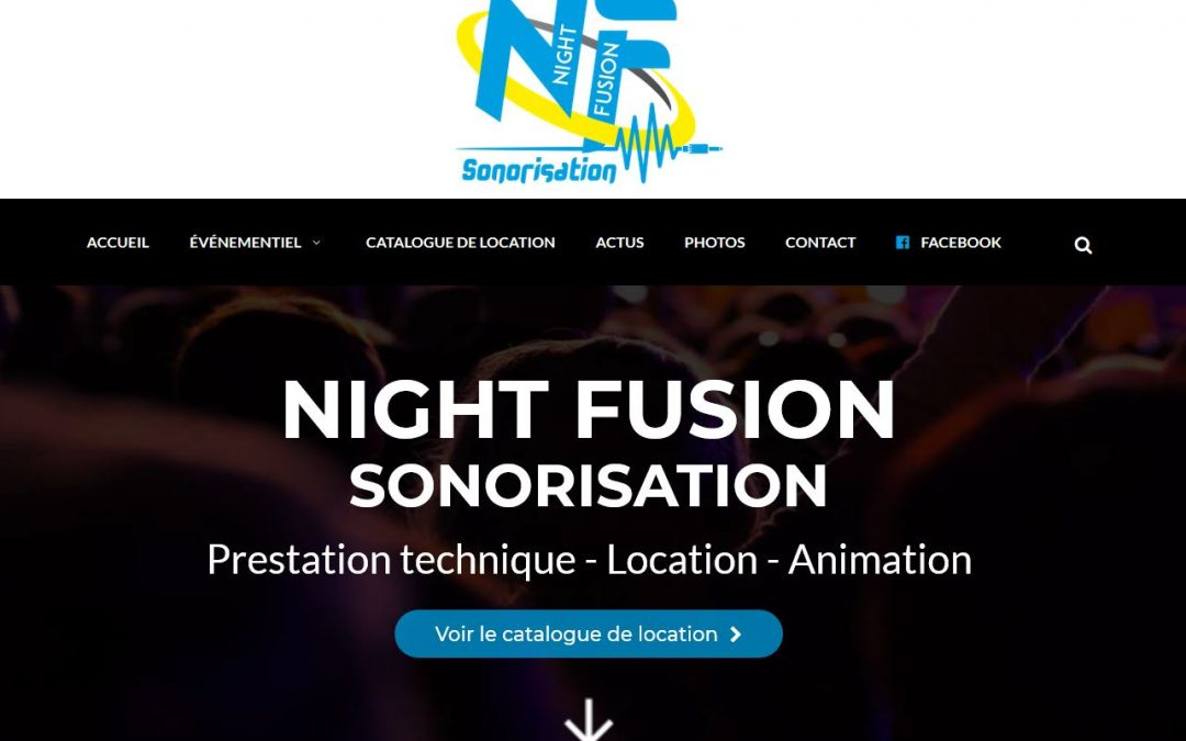 Night Fusion : site web, catalogue de location