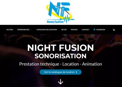 Night Fusion site web