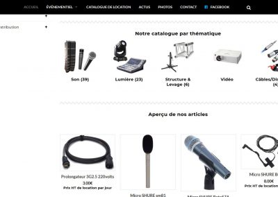Night Fusion cataloge de location