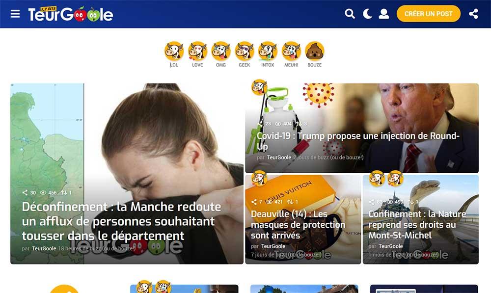 TeurGoole : refonte du site et nouvelles fonctionnalités