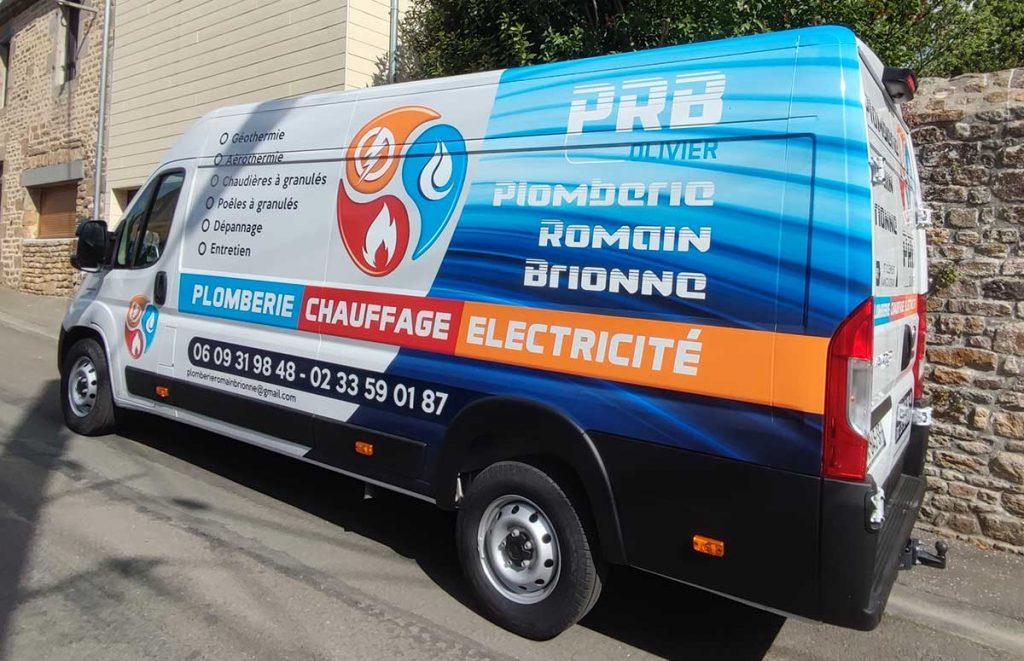 Camion Romain Brionne